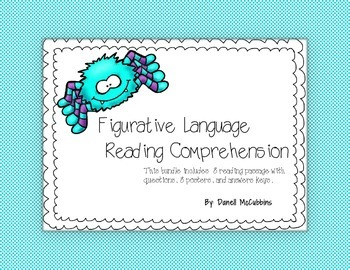 Reading Comprehension with Figurative language