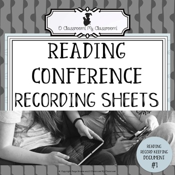 Reading Conference Recording Sheet - Reading Record Keepin