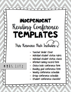 Reading Conference Templates | Keep track of your conferen