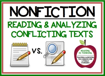 Reading Conflicting Texts - Project (RI.8.1, RI.8.3, RI.8.