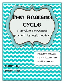 Reading Cycle - Full Program with lessons and blackline ma