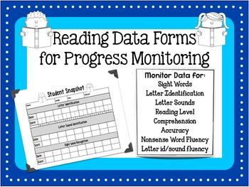 Reading Data Sheet - Progress Monitoring