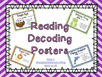 Reading Decoding Posters