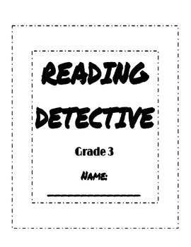 Reading Street Sleuth Booklet with Rubric, Units 1, 2, 3,