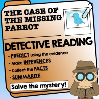 Reading Detective Investigation - predictions, finding inf