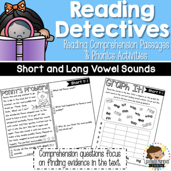 Reading Detectives: Comprehension Passages and Phonics – S