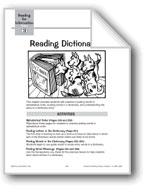 Reading Dictionaries
