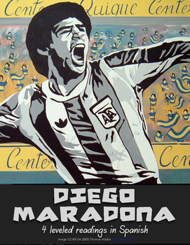Reading: Diego Maradona - 4 leveled readings in Spanish