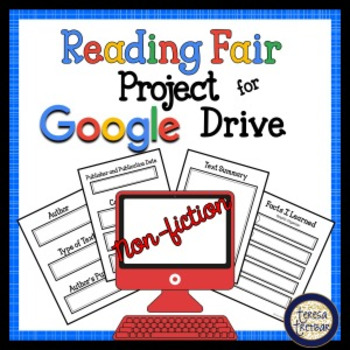 Reading Fair Project for Google Drive ~ Non-Fiction