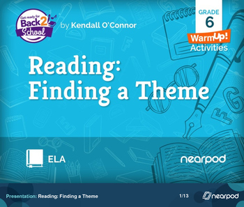 Reading: Finding a Theme
