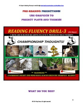 Use Graphics to Predict Plots & Themes! Fluency CAN BE INC
