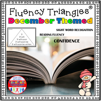Reading Fluency Activity - December and Dec. Holiday Theme