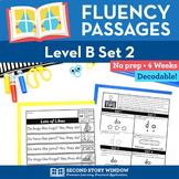 Reading Fluency Homework Level B Set 2