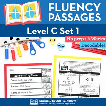 Reading Fluency Homework Level C Set 1