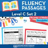 Reading Fluency Homework Level C Set 2