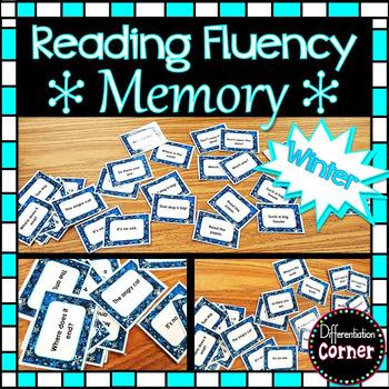 Reading Fluency Memory Game 2