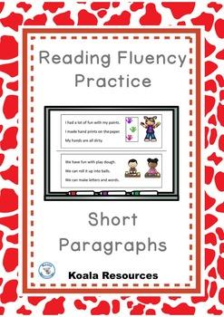 Reading Fluency Practice Short Paragraphs