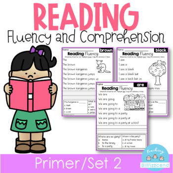 Reading Fluency and Comprehension (Set 2)