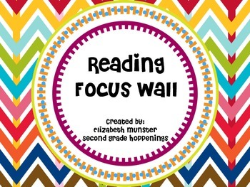 Reading Focus Wall