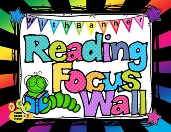 Reading Focus Wall Headers (stars/bright colors) with bann