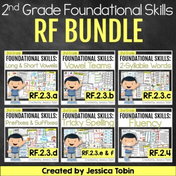 Reading Foundational Skills 2nd Grade Bundle