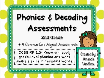 Phonics & Decoding Quarterly Assessments RF 2.3