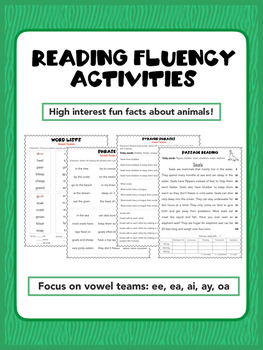 Reading Fluency Intervention with Vowel Teams