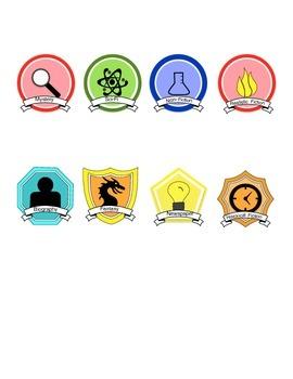 Reading Genre Badges 2