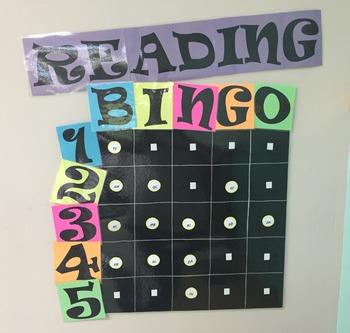 Reading/Geography Bingo