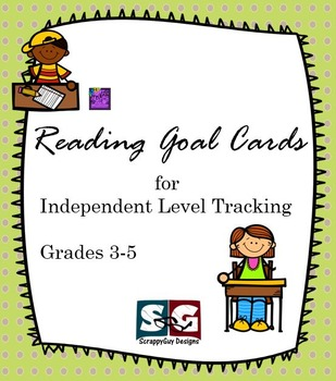 Reading Goal Cards for Grades 3-5 - Student Centered Readi