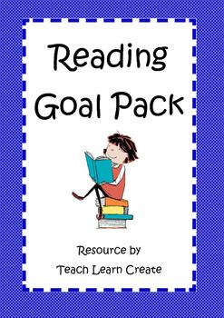 Reading Goal Pack - TeachLearnCreate
