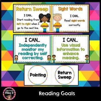 Reading Goals Posters