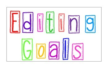 Reading Goals for the Classroom