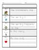 Reading Graphic Organizer - Common Core Standards 1.RL.1 &