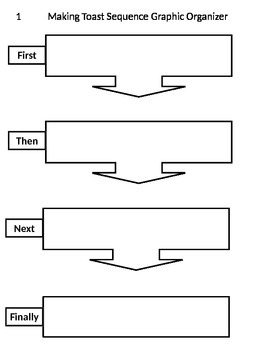 Reading Graphic Organizer Sequence Sort #1