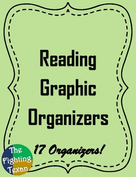Reading Graphic Organizers Bundle