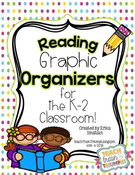 Reading Graphic Organizers for K-2 Classrooms!