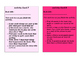 Reading Groups Activity Cards
