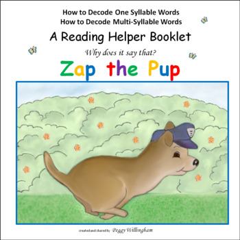 Phonics & Syllabication: ZAP the PUP with Reading Helper -