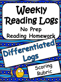 Reading Homework: Differentiated Reading Logs