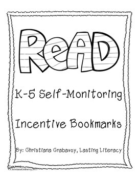 Reading Incentive Bookmark