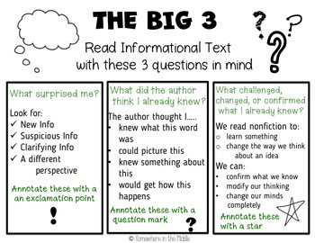 Reading Informational Text