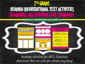 Reading Informational Texts: Activities for Every Standard