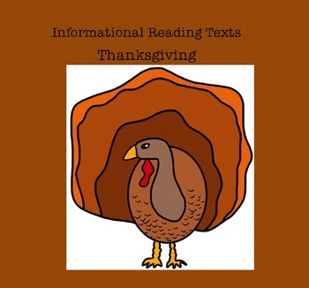 Reading Informational Texts: Thanksgiving