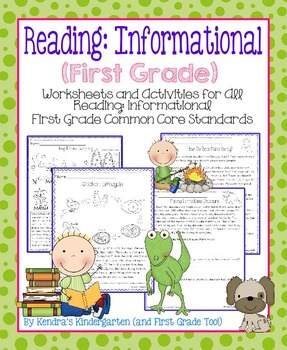 Reading: Informational Worksheets/Activities - First Grade