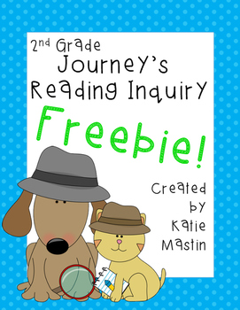 Reading Inquiry Freebie! - Henry and Mudge and My Family