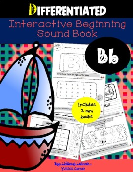 """Reading Interactive Beginning Sound """"B"""" Book ** 2 FOR THE"""