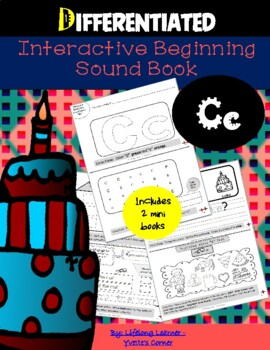 "Reading Interactive Beginning Sound ""C"" Book ** 2 FOR THE"