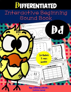 """Reading Interactive Beginning Sound """"D"""" Book ** 2 FOR THE"""