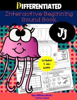 """Reading Interactive Beginning Sound """"J"""" Book ** 2 FOR THE"""